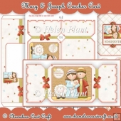 Mary & Joseph Cracker Card