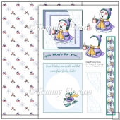 This Mug's for You Snowman Complete Card Kit