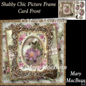 Shabby Chic Picture Frame Card Front