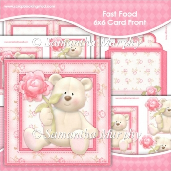 Grin N Bear It 6x6 Card Front