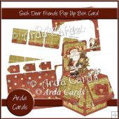 Such Deer Friends Pop Up Box Card