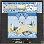 Gift Box and Gift Box Card Kit Blue 1279