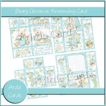 Beary Christmas Neverending Card