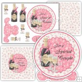 Plate card & Box For A Special Couple