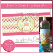 Believe In Unicorns Large Bottle Wrap