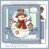 Glad Tidings Card Front