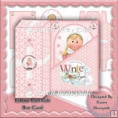 Eskimo Girl Gift Box Card