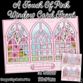 A Touch Of Pink Window Card Front