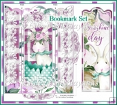 Bunny Sunshine Easter Bookmark Set