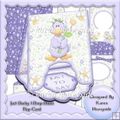 Just Ducky 1 Drop Down Flap Card