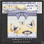Gift Box and Gift Box Card Kit Purplegrey 1280