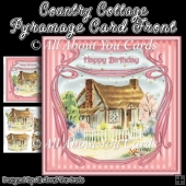 Country Cottage Pyramage Card Front