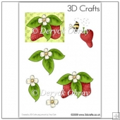 Strawberry Patch - Decoupage PDF Download
