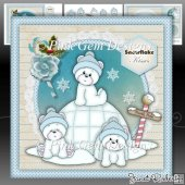 Blue Igloo Bears Mini Kit
