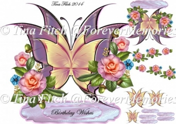 Butterfly Layered Card 1