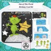 Out of This World Decoupage Birthday Card Kit