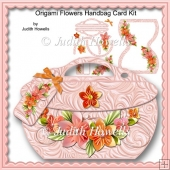 Origami Flowers Handbag Card Kit