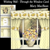 Wishing Well - Through the Window Card