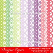 Easter Delights Colors Digital Designer A4 Papers Backgrounds 2