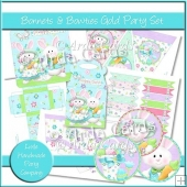 Bonnets & Bowties Gold Party Set