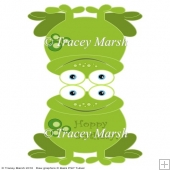 Froggie 6 x 6 Quick and Easy Card Set