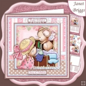 DRESS UP MICE 7.5 Decoupage & Insert Mini Kit