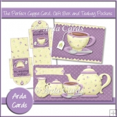 The Perfect Cuppa Card, Gift Box And Teabag Pockets
