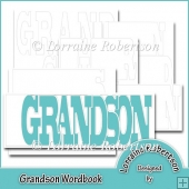 Grandson Word book Template Personal Use