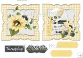sunflowers toppers