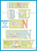 BUNNY Word Art Book