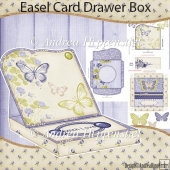 Easel Card Drawer Box Kit