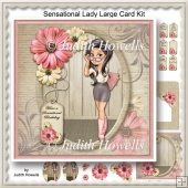 Sensational Lady Large Card Kit