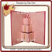 031 Stacked Gift Pop-Up Insert *Multiple MACHINE Formats*