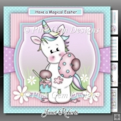 Have A Magical Easter Unicorn Mini Kit