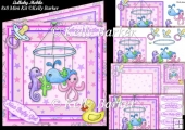 Lullaby Mobile Baby Girl 8x8 Mini Kit