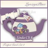 Teapot Card Set 2