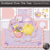 Scalloped Over The Top: Easter Chick