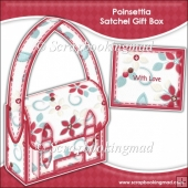 Poinsettia Satchel Gift Box