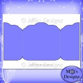 Square Gatefold Template 9