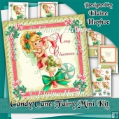 Candy Cane Fairy Mini Kit