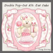Double Pop-Out Kit: Eat Cake