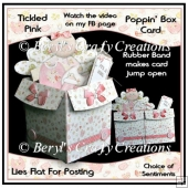 Tickled Pink Poppin' Box Card