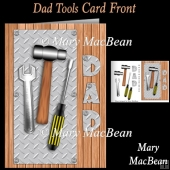 Dad Tools Card Front