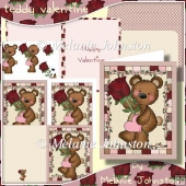 Valentine Teddy Card Kit