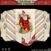 Pop Out Bengi Card Christmas Santa