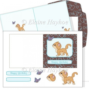 Love Kitty Card Kit 2