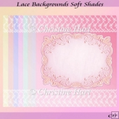 Lace Backgrounds Soft Shades CU