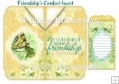 Friendships' Comfort Card Insert