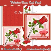 Valentine Roses Card Front