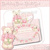Birthday Bear Shelf Card